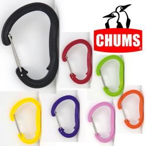 チャムス プラスチックカラビナLサイズ CH61-0120 Plastic Carabiner Large|kompas
