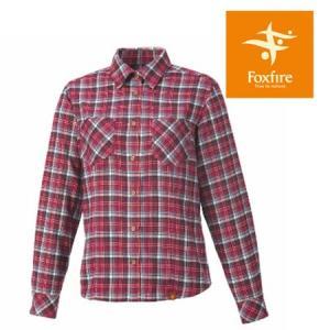 フォックスファイヤー シャツ レディース/女性用 FXF8112505 トランスウェットローモンドチェックシャツ 長袖シャツ 吸汗速乾 山シャツ チェックシャツ|kompas