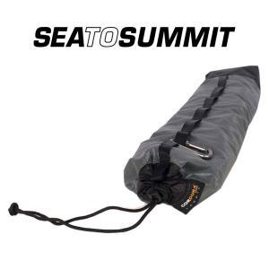 シートゥサミット テントポールバッグ ST83601 ポールケース TENT POLE BAG グレー ポール用収納袋 ロストアロー正規取引店|kompas
