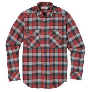 フォックスファイヤーTSツイストチェックシャツ ロングスリーブ FXF5212765 メンズ/男性用 シャツ|kompas