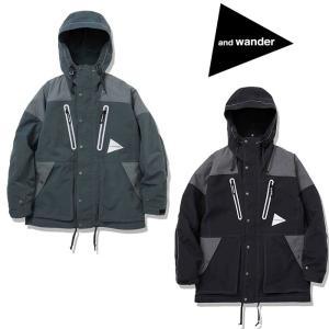 アンドワンダー タスランナイロンジャケット AW93-FT039 メンズ/男性用 ジャケット taslan nylon jacket ※半期に一度のクリアランス|kompas
