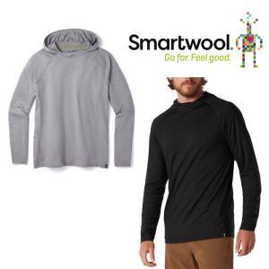 スマートウール メンズ メリノスポーツ150フーディー SW62085 メンズ/男性用 Tシャツ ロストアロー|kompas