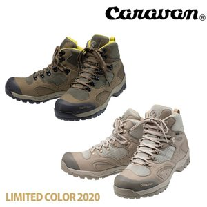 キャラバン C1_02S CRVN0010106 メンズ/男性用 レディース/女性用サイズ 登山靴 2020年限定カラー サンド オリーブ kompas