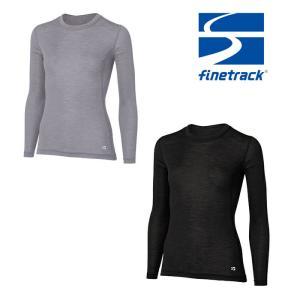 ファイントラック メリノスピンライトロングスリーブ FUW0721 レディース/女性用 Tシャツ  ...