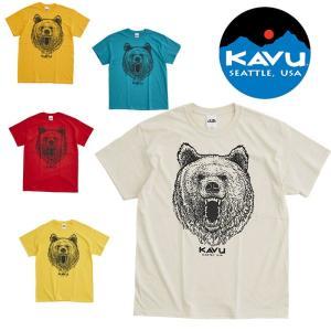 カブー グリズリーTシャツ KAVU19821232 メンズ/男性用 Tシャツ ※クリアランス商品【返品交換不可】|kompas