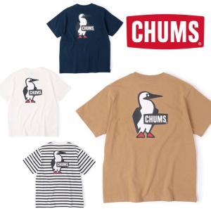 チャムス ブービーロゴTシャツ CH01-1835 メンズ/男性用 Tシャツ Booby Logo T-Shirt 2021年春夏新作|kompas