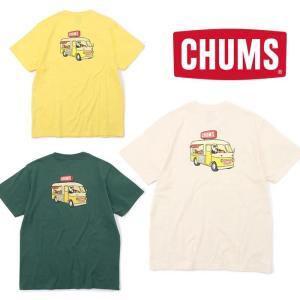 チャムス フードトラックTシャツ CH01-1859 メンズ/男性用 Tシャツ Food Truck T-Shirt 2021年春夏新作|kompas