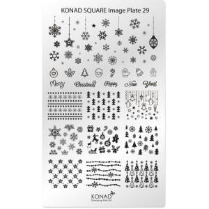 コナド スタンピングネイルアート スクエアイメージプレート29【KONAD】 スタンピングネイル/スタンプネイル/ネイルスタンプ|konadshop-hero