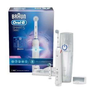 BRAUN 電動歯ブラシ オーラルB スマート5000 圧倒的な歯垢除去力と歯ぐきへの優しさ ブラウン D6015255XP konan