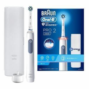 電動歯ブラシ オーラルB 3D丸形回転電動歯ブラシ 丸型ブラシ PRO2 ブルー BRAUN ブラウン D5055133XBL konan
