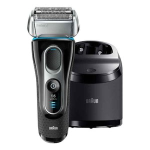髭剃り 電気シェーバー メンズ Series5 シリーズ5 洗浄器付モデル ハイブリッド4カットシス...