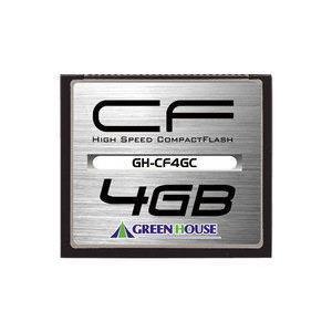 グリーンハウス 133倍速コンパクトフラッシュ 4GB GH...