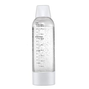 ツイスパソーダ ツイスパソーダ用 スペアボトル 容量950ml ホワイト グリーンハウス SODAA-BT1W|konan