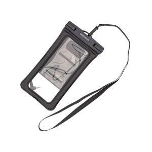 スマートフォン用 防水ケース IPX6/IPX8対応 ブラック グリーンハウス GH-WPCD-BK|konan
