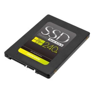 SSD 2.5インチ SATA 6Gb/s TLC 240GB 高速モデル 3年保証 グリーンハウス GH-SSDR2SA240|konan