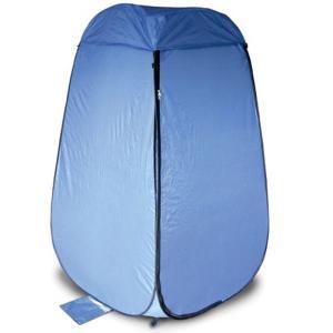 EXELUX ワンタッチルームテント ブルー 簡易更衣室 組み立て不要 収納バッグ付 海水浴 サーフィン キャンプ アウトドア メテックス NBBOR-BL|konan