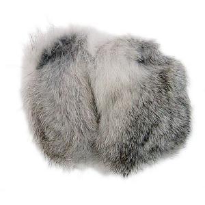 イヤーラックス ラビットファー シルバー SMサイズ EARLUX 耳あて イヤーマフ 防寒 耳カバー 簡単装着 コンパクト おしゃれ メテックス TYESR-04|konan