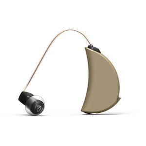 耳掛け式補聴器 エクサイレント デジタル補聴器 YタンゴPro 左耳用 M ワイヤー長さ47mm 軽度から中度難聴者向け 超小型 オランダ製 メテックス XSTYTPR-LM|konan