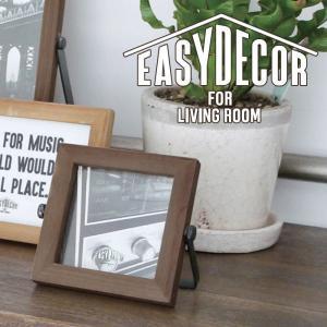 EASY DECOR フォトフレーム スクエア 写真立て 額縁 フレーム 飾り オシャレ 写真フレーム EASY DECOR A107|konan