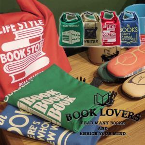 BOOK LOVERSランチポーチ 保冷 メンズ レディース 保温 お弁当 トート かわいい おしゃれ 人気 BOOK LOVERS A243|konan