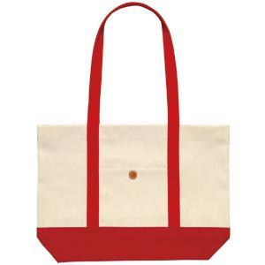 カラフルトートバッグ レッド ショッピングバッグ 帆布バッグ 家庭科 裁縫 縫製 オリジナル 作成 アーテック 4645|konan