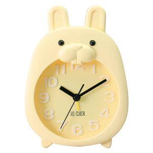 アニマル目覚まし時計 うさぎ ウサギ 置掛両用 壁掛け アナログ アーテック 5120|konan