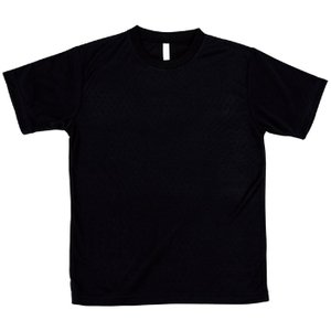 ATドライTシャツ ブラック 130cm Tシャツ 半袖Tシャツ 普段着 ファッション 運動 スポーツ ユニフォーム アーテック 38364|konan
