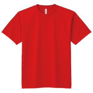 DXドライTシャツ L レッド 010 半袖 メッシュ Tシャツ 大人サイズ 男女兼用 普段着 運動 ダンス アーテック 38480|konan