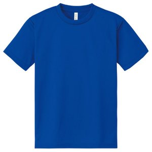 DXドライTシャツ M ロイヤルブルー 032 半袖 メッシュ Tシャツ 大人サイズ 男女兼用 普段着 運動 ダンス アーテック 38487|konan