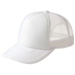イベントメッシュキャップ(ホワイト 001)帽子 CAP 学校 部活 チーム イベント 会社 団体 お揃い アーテック  39700|konan