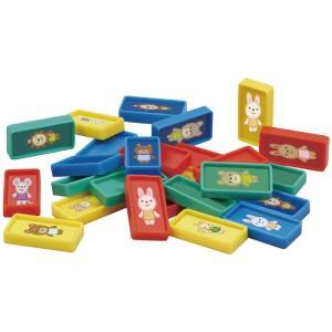 キッズスタディ ドミノつみき ドミノ 積み木 知育玩具 おもちゃ 色 形 遊び 学習 子供用 幼児 アーテック 70723|konan