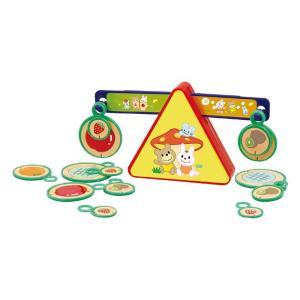 キッズスタディ フルーツてんびん 果物 天秤 知育玩具 おもちゃ 重さ 量る 遊び 学習 子供用 幼児 アーテック 70725|konan