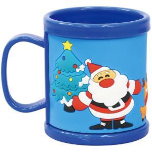 ラバーコップ サンタ Xmas クリスマス サンタクロース マグカップ 子供用 日用品 雑貨 パーティー プレゼント アーテック 77687|konan