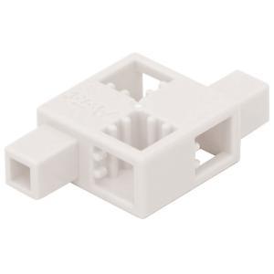 Artecブロック ハーフD 白 単色8pcsセット ブロック パーツ 部品 知育玩具 玩具 おもちゃ 教育 創造力 遊ぶ 学ぶ 子供 アーテック 77894|konan