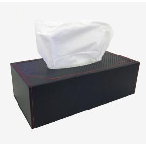 ティッシュボックス ケース 箱ティッシュケース GT-MOBILE ティッシュボックスケース ボックスティッシュケース カーボン調 ブラック プレゼント 贈り物|konan