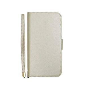 AQUOS sense2 SH-01L SHV43 ケース カバー シャイニー手帳型ケース シャイニー素材 光沢感 二つ折り 手帳型 かわいい おしゃれ|konan