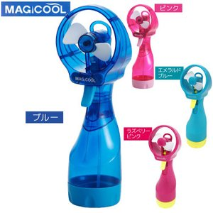 SEARCH WORD: magicool ミニ扇風機 熱中症 暑さ対策 予防 携帯ミスト 柔らかフ...