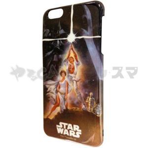 iPhone6Plus用 アイフォーン6プラス ケース カバー スターウォーズ シェルジャケット(ポスター)STARWARS 映画 グルマンディーズ STW-23B|konan