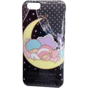 グルマンディーズ キキ&ララ iPhone6 ケース 対応 ソフトジャケット(おやすみ) SAN-367B konan