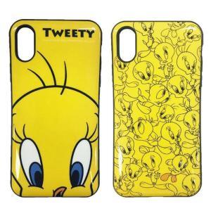 iPhone XR 対応 iPhoneXR 6.1インチモデル ケース カバー トゥイーティー IIIIfit イーフィット ハイブリッドケース TWEETY ワーナー Looney Tunes konan