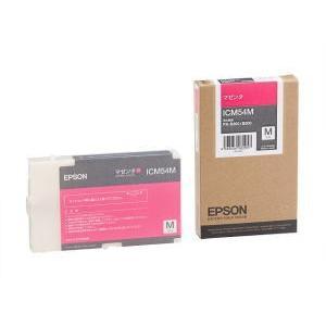 エプソン PX-B300/B500用 インクカートリッジM マゼンダ ICM54M|konan