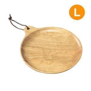 皿 プレート 丸皿 ラウンドプレート Lサイズ 木製食器 ウッド食器 白樺 アウトドア キャンプ ピクニック お皿 木皿 おしゃれ|konan