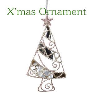 クリスマスオーナメント クリスマス装飾 ツリー飾り ツリー装飾 クリスマスグリッターオーナメント ツリー クリスマス CHRISTMAS XMAS 飾り 装飾|konan