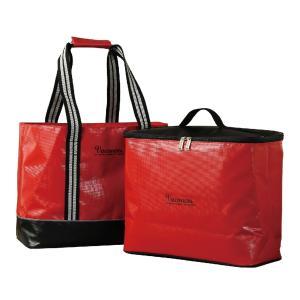 保冷バッグ 大型保冷バッグ クーラーバッグ 保冷トートバッグ 大容量 2Way バッグインクーラーバッグ 買い物 運動会 スパイス SFVG1801RD|konan