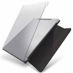 代引不可 iPad 10.2インチ 2019年モデル ケース カバー シェルケース ハードケース スマートカバー対応 軽量 スリム エレコム TB-A19RPV2CR konan