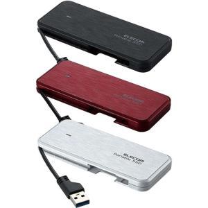 あすつく 外付けポータブルSSD 1TB 高速 データ転送 USB3.2(Gen1)対応 エレコム ESD-ECA1000G