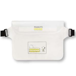 防水ポシェット 防水 ポシェット スマホケース マルチケース IPX6適合 スヌーピー PEANUTS 防水ポシェット|konan
