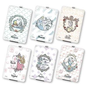 パスケース カードケース 定期入れ ICカードケース ディズニーキャラクター プリンセス パスケース konan