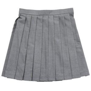 TEENS EVER 無地 プリーツスカート(グレー)Lサイズ スクールスカート 制服スカート 無地 プリーツ 高校生 中学生 学校 4560320822455|konan