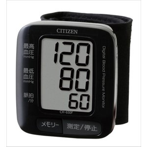 シチズン 手首式血圧計 CH650F-BK|konan